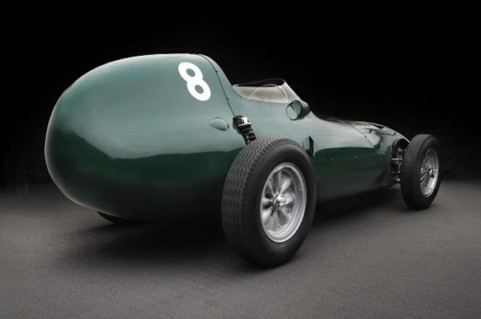Vanwall Formula 1 1958 - Tail End