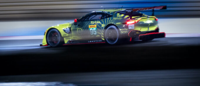 Aston Martin Qualified for Front Row at 8-Hours of Bahrain - Car 95
