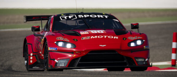 Aston Martin Qualified for Front Row at 8-Hours of Bahrain - TF
