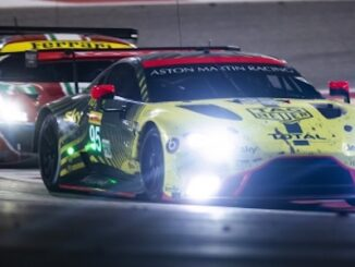 Aston Martin Racing - On track at night