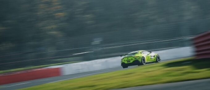 Aston Martin Vantage GT4 Extends British GT Title Success - Tail View Long
