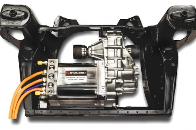 Classic Mini Electrification Kit - shown in frame