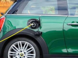 EV MINI Cooper being at Charging Station - image via the EVA England