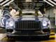Flying Spur V8 production and deliveries underway - view of final fit and polish on production line