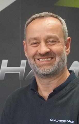 Graham MacDonald of Caterham