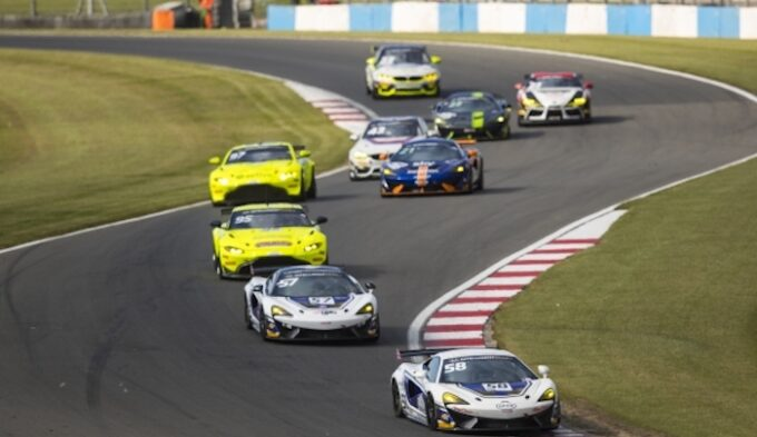 HHC Motorsport 57 & 58 is fighting for the GT4 titles
