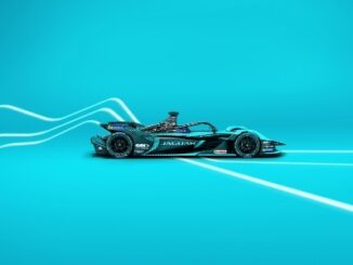 Jaguar Racing unveil Jaguar I-TYPE 5 race car ahead of new Formula E Campaign - Side VIew