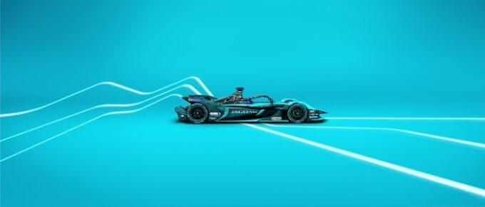 Jaguar Racing unveil Jaguar I-TYPE 5 race car ahead of new Formula E Campaign - Side VIew