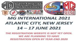 MG 2021 International, Atlantic City