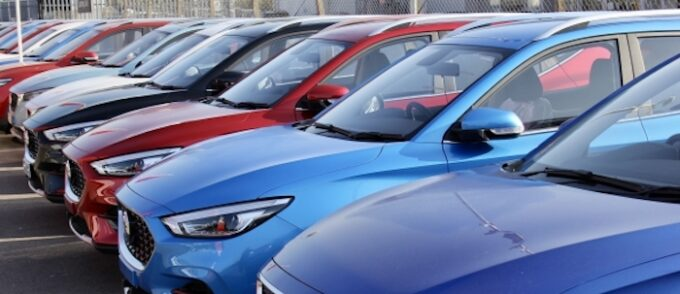 MG Motor UK October sales