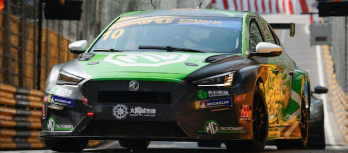MG XPower Driven by Rob Huff in Macau