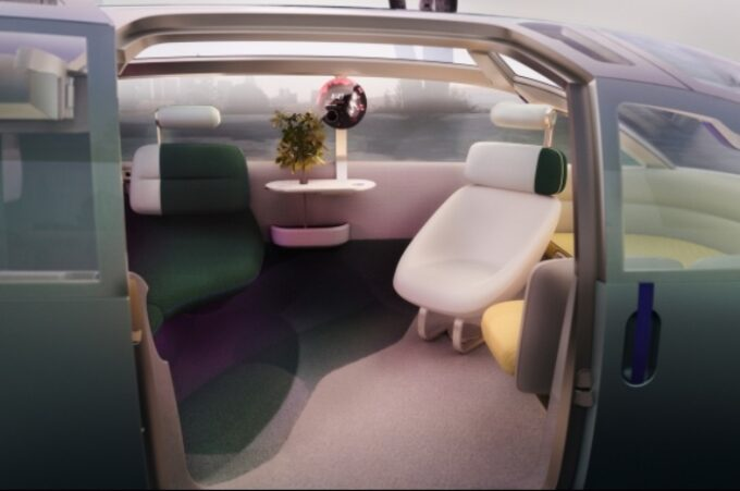 MINI Vision Urbanaut - Interior Side