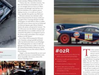 McLaren GTR History Lead Image