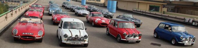 Minis and Jaguar E-Types