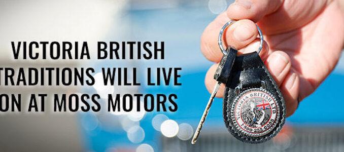 Moss Motors To Acquire Victoria British
