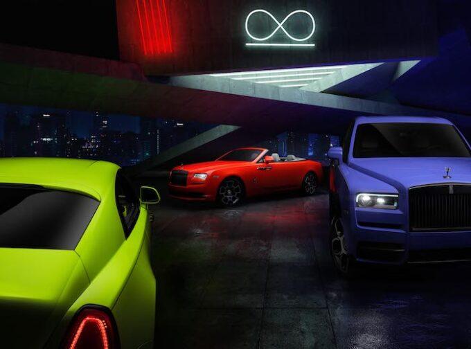 Neon Nights Paint Scheme for Black Badge Rolls-Royce 00001