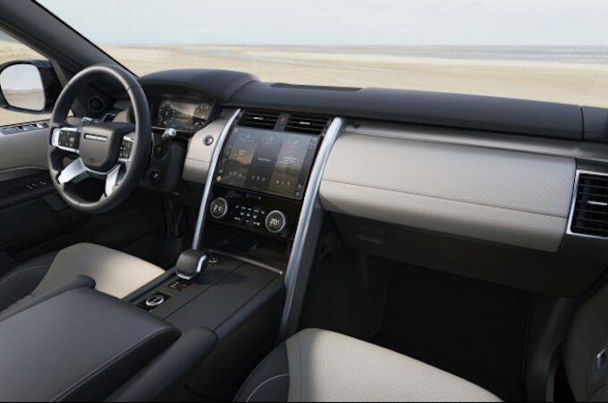 New Land Rover Discovery - Interior