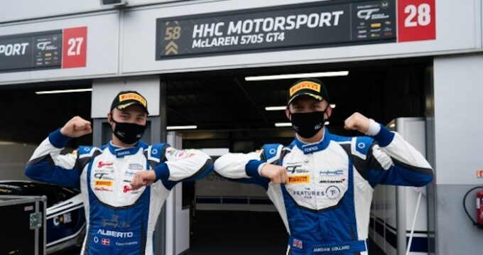 Patrick Matthiesen and Jordan Collard have their sights on the GT4 Drivers' Championship