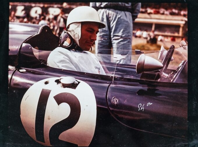 Signed photo of Sir Stirling Moss Lot 305
