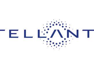 Stellantis Logo with White Background