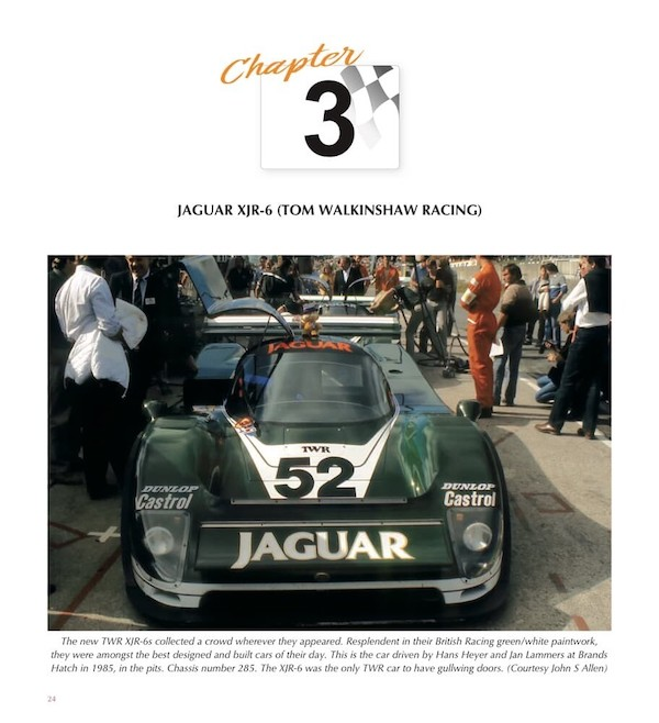 TWRs Le Mans winning Jaguars Chapter 3 lead page