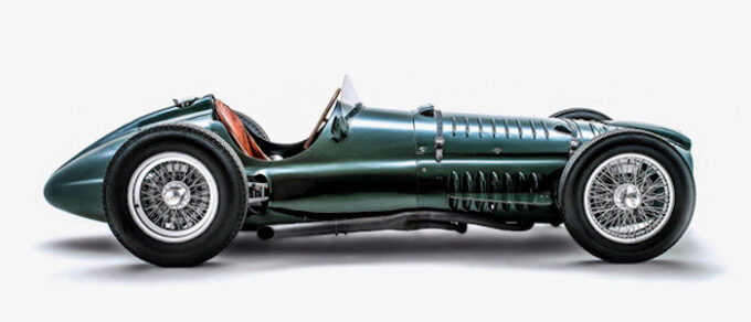 The P15 BRM V16 Mk 1 all-British Formula 1 car of the 1950s (credit Wonderhatch-BRM)