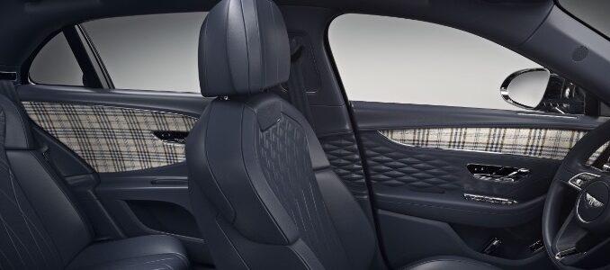 Tweed Interior Option for Bentley - interior panels