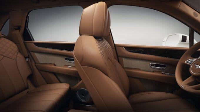 Tweed Interior Option for Bentley - seats