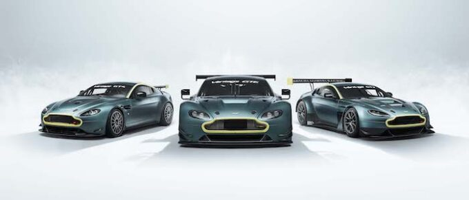 Vantage Legacy Collection - Front Shot of all three cars