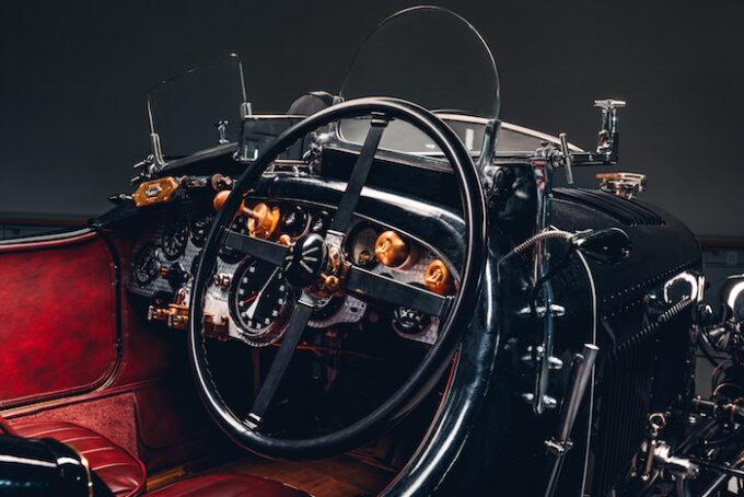 Bentley Blower Car Zero - Dashboard and Steering Wheel