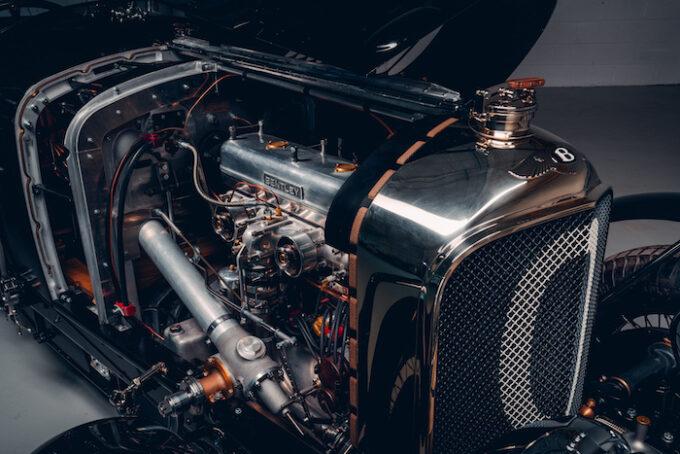Bentley Blower Car Zero - Engine Compartment