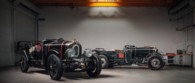 Bentley Blower Car Zero - Garage View of Cars