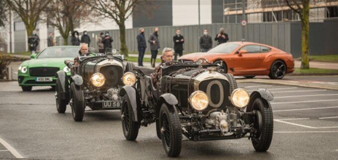 Bentley Campus - 2 - Line of cars
