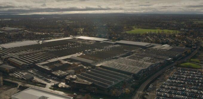 Bentley Campus - 3 - Arial View
