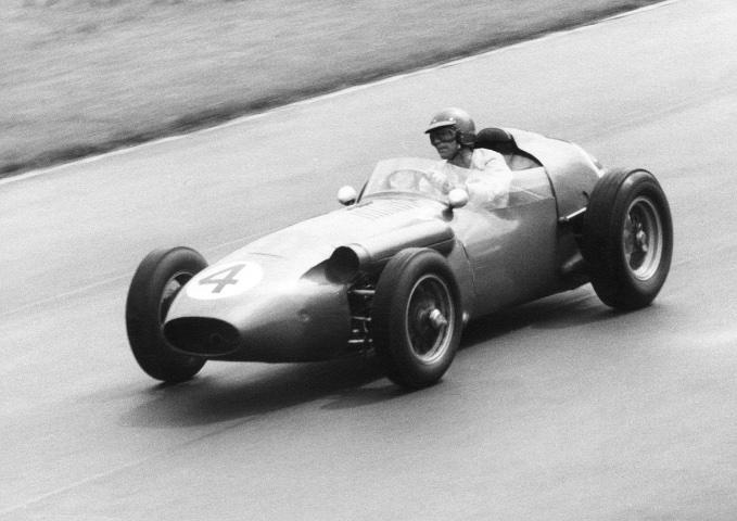 DBR4-2 Shelby British GP Aintree 1959