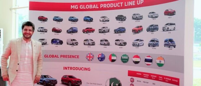 MG Motors Pakistan Secures 1000 Orders for SUV Before Launch