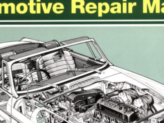 Haynes MGB Automotive Repair Manual Cover