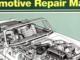 Haynes MGB Automotive Repair Manual Cover