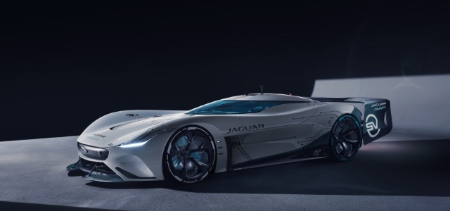 Header - Introducing the Jaguar Vision Gran Turismo SV - The ultimate all-electric gaming endurance racer - 4