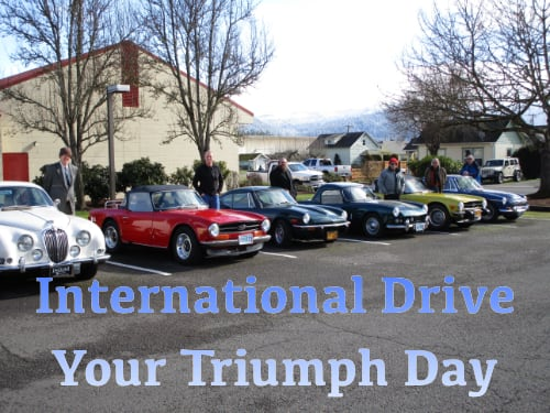 International Drive Your Triumph Day
