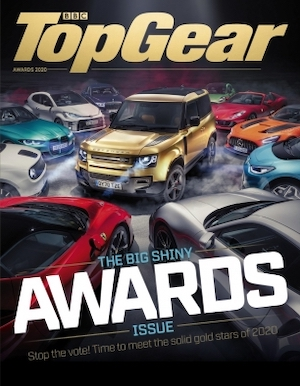 Land Rover Defender is Top Gear's Car of the Year - Top Gear Magazine Cover