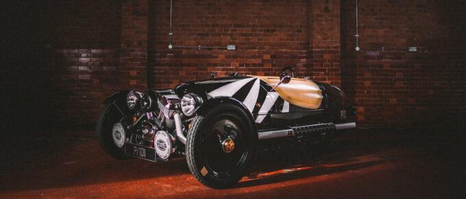 Morgan Bicester - 3 wheeler in garage