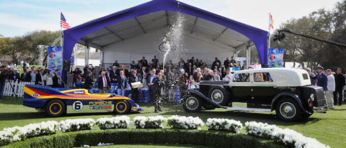 National Premiere of Driving Amelia on NBCSN Awards Ceremony