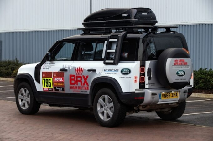 New Defender set to play vital role as Land Rover returns to the Dakar in 2021