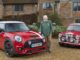 Paddy Hopkirk Limited Edition MINI Cooper S with Classic Mini and Paddy Hopkirk