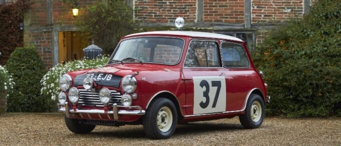 Paddy Hopkirk Limited Edition MINI Cooper S