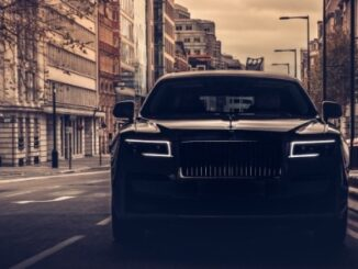 Rolls-Royce Motor Cars London reimagines operations for new generation of clients - dark street view