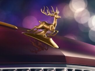Santa's Reindeer Eight Flying Spur - 3 Bespoke Hood Ornament