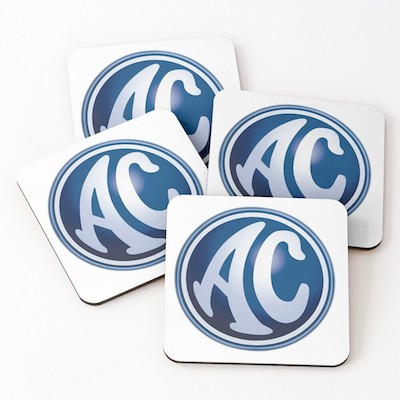 Set of 4 AC Car Coasters