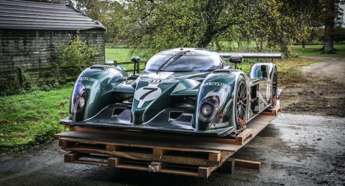 Team Bentley Racing Automobilia Takes Pole Position at Auction - Bentley Speed 8 showcar
